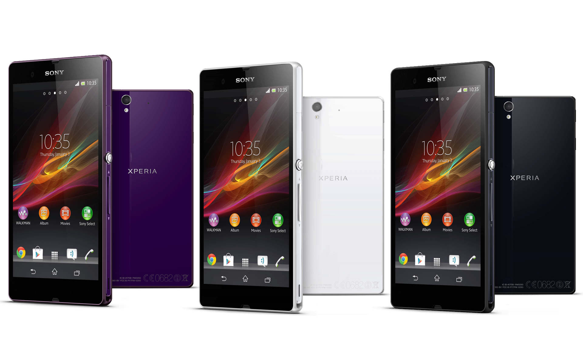 Display-ul Sony Xperia Z - un succes remarcabil