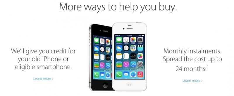 Apple va accepta si telefoane cu urme de degradare, prin noul program de Trade-In