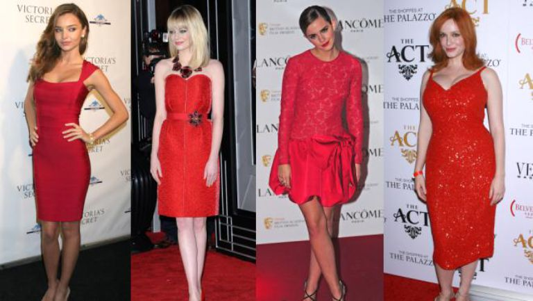 Cum accesorizam o rochie rosie?